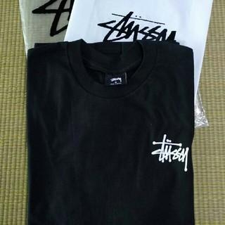 ステューシー(STUSSY)のSTUSSY 大人気Tシャツ ブラック(一枚)(Tシャツ/カットソー(半袖/袖なし))