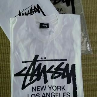 ステューシー(STUSSY)のSTUSSY 超モテモテTシャツ ホワイト(一枚)(Tシャツ/カットソー(半袖/袖なし))