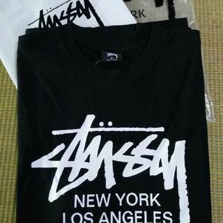 ステューシー(STUSSY)のSTUSSY 超モテモテTシャツ ブラック(一枚)(Tシャツ/カットソー(半袖/袖なし))