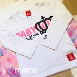 ベビードール(BABYDOLL)の未使用⭐︎BABY DOLL⭐︎ロゴ ロングTシャツ(Tシャツ/カットソー)