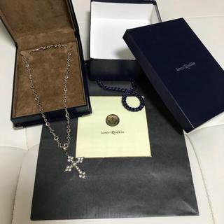 ローリーロドキン(Loree Rodkin)のローリーロドキン クロス 十字架 ネックレス(ネックレス)