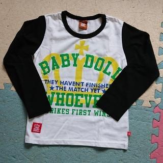ベビードール(BABYDOLL)の【新品未使用】ベビド 長袖 ロンT 120(Tシャツ/カットソー)