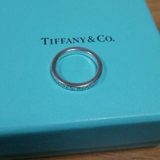 ティファニー(Tiffany & Co.)の未使用ティファニーシルバーリングです(リング(指輪))