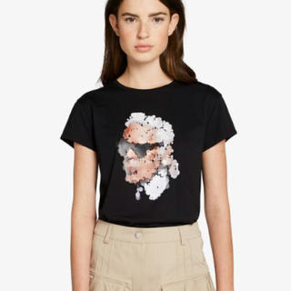 カールラガーフェルド(Karl Lagerfeld)のカールラガーフェルド Tシャツ ブラック XS(Tシャツ(半袖/袖なし))