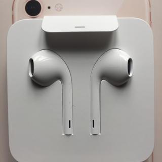 アップル(Apple)の純正  iphone 7  イヤホン(ヘッドフォン/イヤフォン)