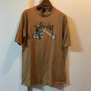 ステューシー(STUSSY)のTシャツ ステューシー stussy サイズM バイカー(Tシャツ/カットソー(半袖/袖なし))