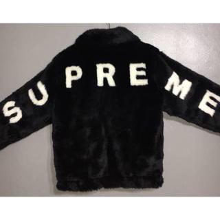 シュプリーム(Supreme)の正規新品 Mサイズ supreme faux fur bomber jacket(その他)