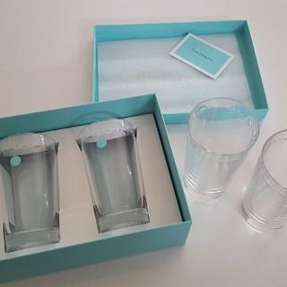 ティファニー(Tiffany & Co.)のティファニー ペアグラス2組4個(グラス/カップ)