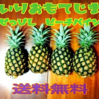 西表島産  絶品 ピーチパイン  4玉入  送料無料(フルーツ)