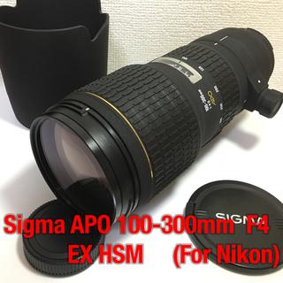 シグマ(SIGMA)のニコン用 ★ シグマ SIGMA APO 100-300mm F4 EX HSM(レンズ(ズーム))