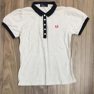 フレッドペリー(FRED PERRY)のFRED RERRY ポロシャツ ドット柄(ポロシャツ)