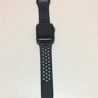 アップルウォッチ(Apple Watch)のApplewatch series3 NIKE 38mmGPS+Cellular(腕時計(デジタル))