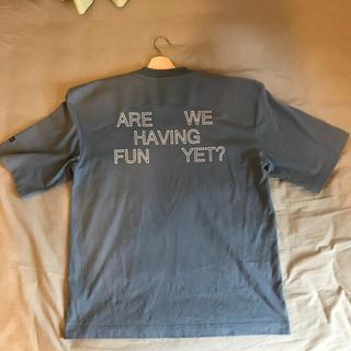 バレンシアガ(Balenciaga)のvetements フットボールショルダーT-shirts(Tシャツ/カットソー(半袖/袖なし))