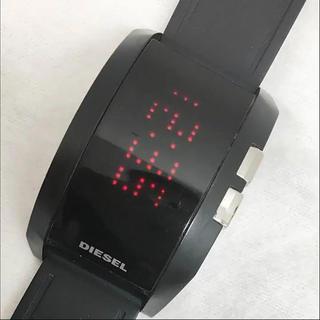 ディーゼル(DIESEL)のディーゼル‼️美品(^O^)デジタル  ラバーウォッチ‼️(腕時計(デジタル))