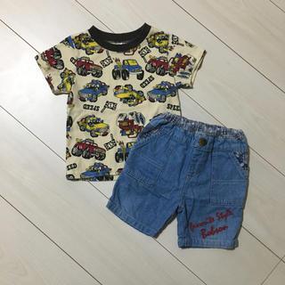 ボブソン(BOBSON)のボブソン パンツ Tシャツ 男の子 90 セット(Tシャツ/カットソー)