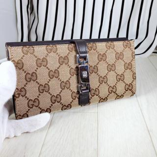 グッチ(Gucci)の【超美品】GUCCI×グッチ GG柄 2つ折り長財布(財布)