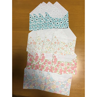 封筒 4柄4枚セット☆(カード/レター/ラッピング)