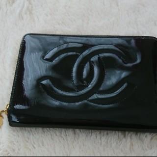 シャネル(CHANEL)のCHANEL エナメル 財布(財布)