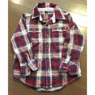 ベビーギャップ(babyGAP)のbabyGap チェックシャツ 100サイズ(Tシャツ/カットソー)