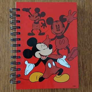 ディズニー(Disney)のミッキー リング ノート(ノート/メモ帳/ふせん)