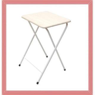 コンパクト収納★折りたたみテーブル サイドテーブル(コーヒーテーブル/サイドテーブル)