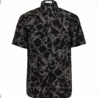 バレンシアガ(Balenciaga)のBALENCIAGA シャツ 柄 15ss メカニカル 三科(シャツ)