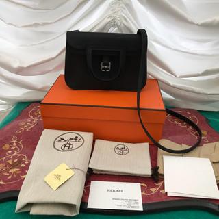エルメス(Hermes)の新品未使用 エルメス アルザンミニ22 黒 (ハンドバッグ)