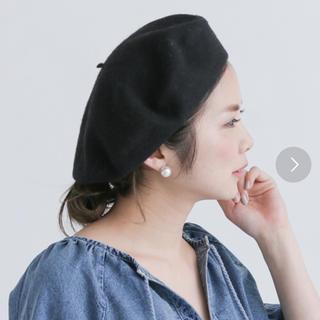 アーバンリサーチ(URBAN RESEARCH)のウールベレー帽(ハンチング/ベレー帽)