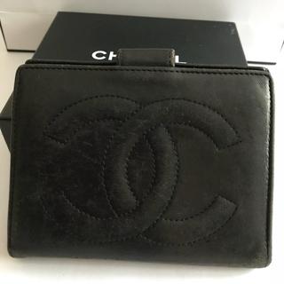 CHANEL がま口財布