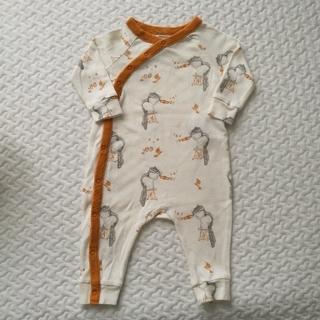 ベビーギャップ(babyGAP)のBabyGAP ロンパース 3-6ヶ月(ロンパース)