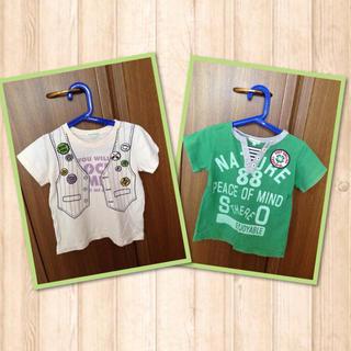 サンカンシオン(3can4on)のキッズTシャツ  100㎝(その他)