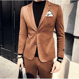 二次会 ビジネス 司会者 セットアップ 定番 ファッション  紳士 zb417(セットアップ)