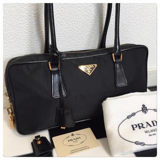 プラダ(PRADA)の《美品》PRADA(プラダ)ハンドバッグ(ハンドバッグ)