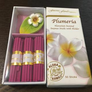 plumeria アロマ スティック お香 ギフト 未使用品(アロマグッズ)