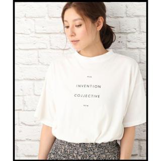 レプシィム(LEPSIM)のハイネック プリント ワイド T(Tシャツ(半袖/袖なし))