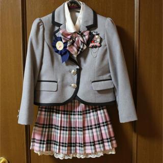 ヒロミチナカノ(HIROMICHI NAKANO)のヒロミチ ナカノ 制服 スーツ 120  入学、卒園、イベントに!!!(ドレス/フォーマル)