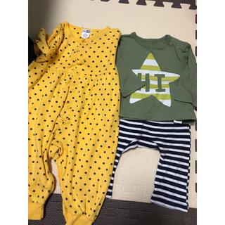 ベビーギャップ(babyGAP)のベビー服 3点セット(ロンパース)