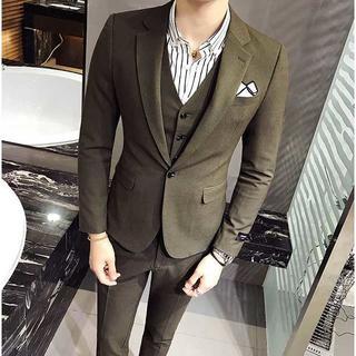 無地 メンズスーツ 結婚式 セットアップ 二次会 スーツジャケット zb426(セットアップ)