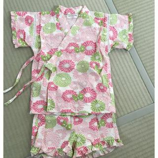 アンパサンド(ampersand)の女の子用甚平 110センチ AMPERSAND(甚平/浴衣)