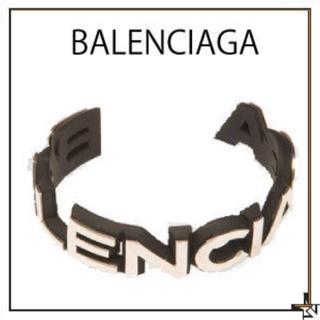 バレンシアガ(Balenciaga)のBALENCIAGA badge バングル 17AW バレンシアガ(バングル/リストバンド)