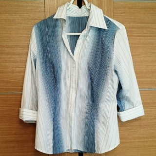 ニジュウサンク(23区)のONWARD 23区 ストライプシャツ(シャツ/ブラウス(長袖/七分))