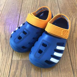 アディダス(adidas)の【adidas】アディダス キッズ サンダル スリッポン 14cm(サンダル)