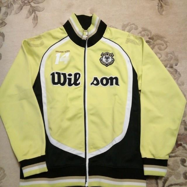 wilson(ウィルソン)のウィルソン メンズ ジャージ ジャケット XL スポーツ/アウトドアのテニス(ウェア)の商品写真