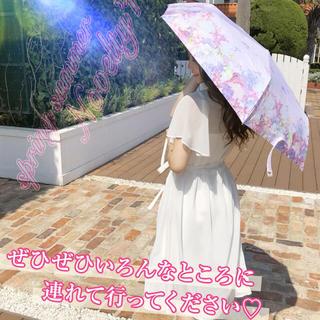 ミシェルマカロン(michellMacaron)の折りたたみ傘☂ノベルティ(傘)