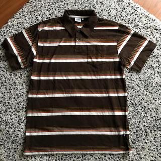 ディスカス(DISCUS)のDISCUS ボーダ柄ポロシャツ(ポロシャツ)