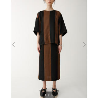スライ(SLY)の週末限定値下げ!完売中ストライプロングスカート(Tシャツ(半袖/袖なし))