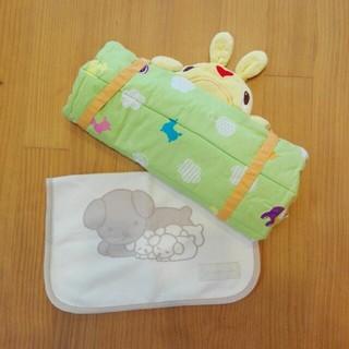 ニシカワ(西川)の西川製ロディーお昼寝マット💕西川製掛け毛布(ベビー布団)