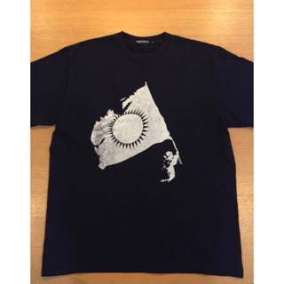 アンダーカバー(UNDERCOVER)のundercover GIZ FLAG 名古屋限定 T-shirts【L】紺(Tシャツ/カットソー(半袖/袖なし))