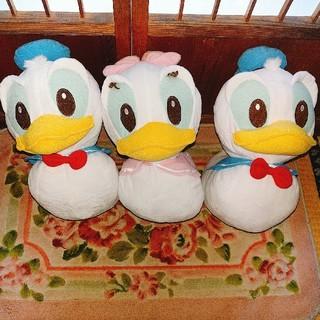 ディズニー(Disney)のドナルド&デイジーぬいぐるみ(3点セット)(ぬいぐるみ)
