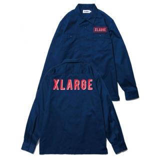 エクストララージ(XLARGE)の美品 XLARGE ワークシャツ 定価13000+税(シャツ)